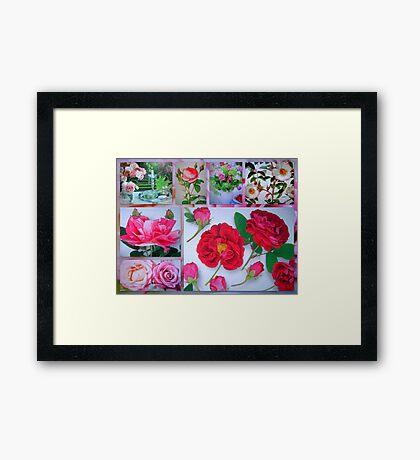Rose Valentine's Greetings Framed Print