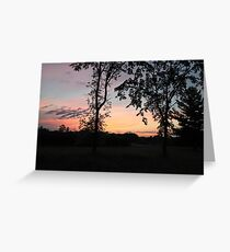 Tranquility in June Greeting Card