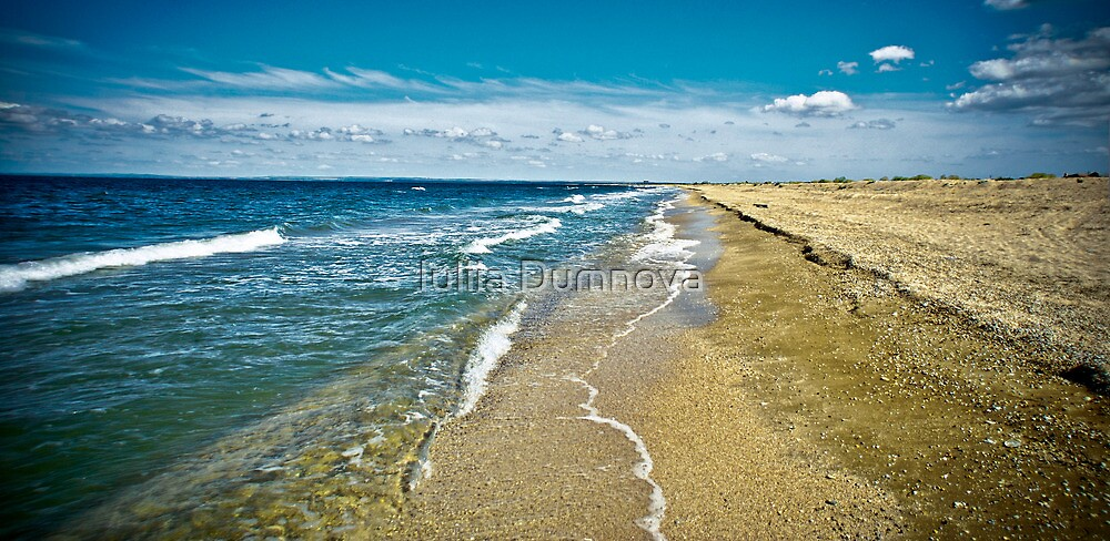 seascape-September, the Crimea, Shelkino by Iuliia Dumnova