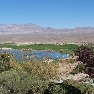 Golfing in the Desert  by Misawalk