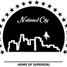 National City: Home of Supergirl by FangirlD3signs