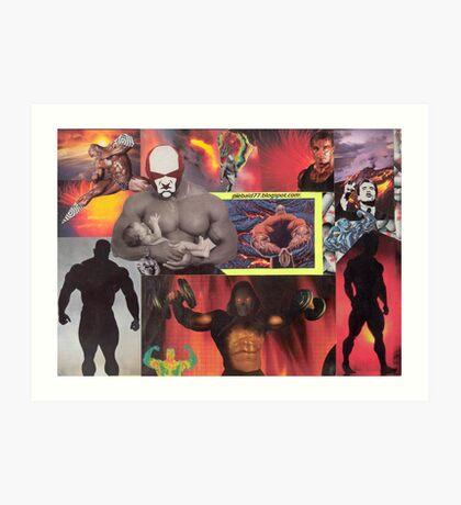 Testosterone Inferno Art Print