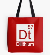 Dilithium - Star Trek Tote Bag