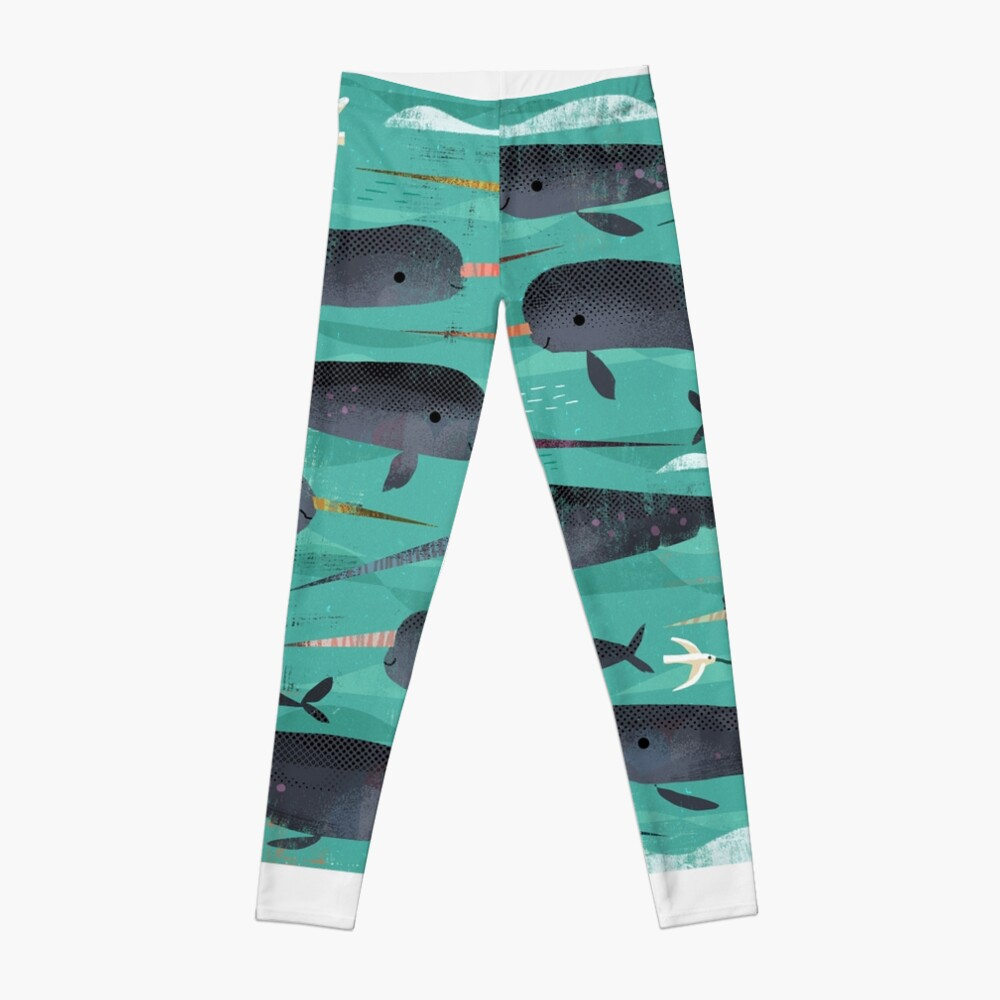 Narwhals and Narbirds Leggings