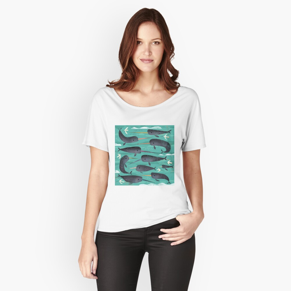 Narwhals and Narbirds Relaxed Fit T-Shirt