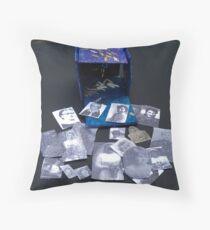 The Dive Dream Box Throw Pillow