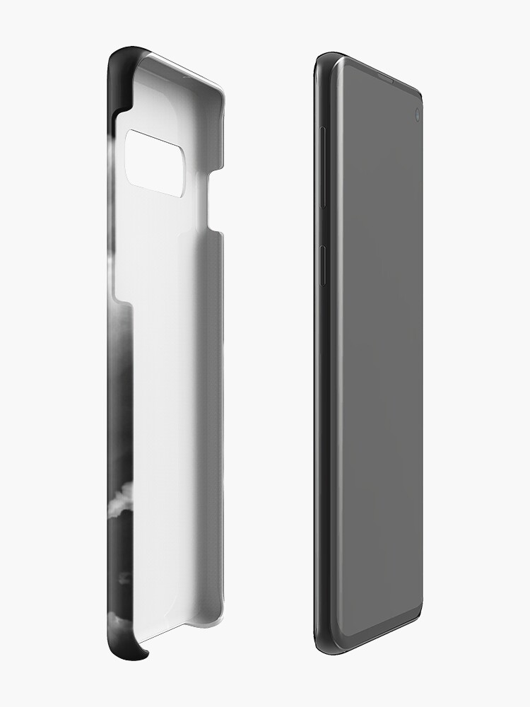 Alternate view of Anvil shaped cloud in black and white Case & Skin for Samsung Galaxy