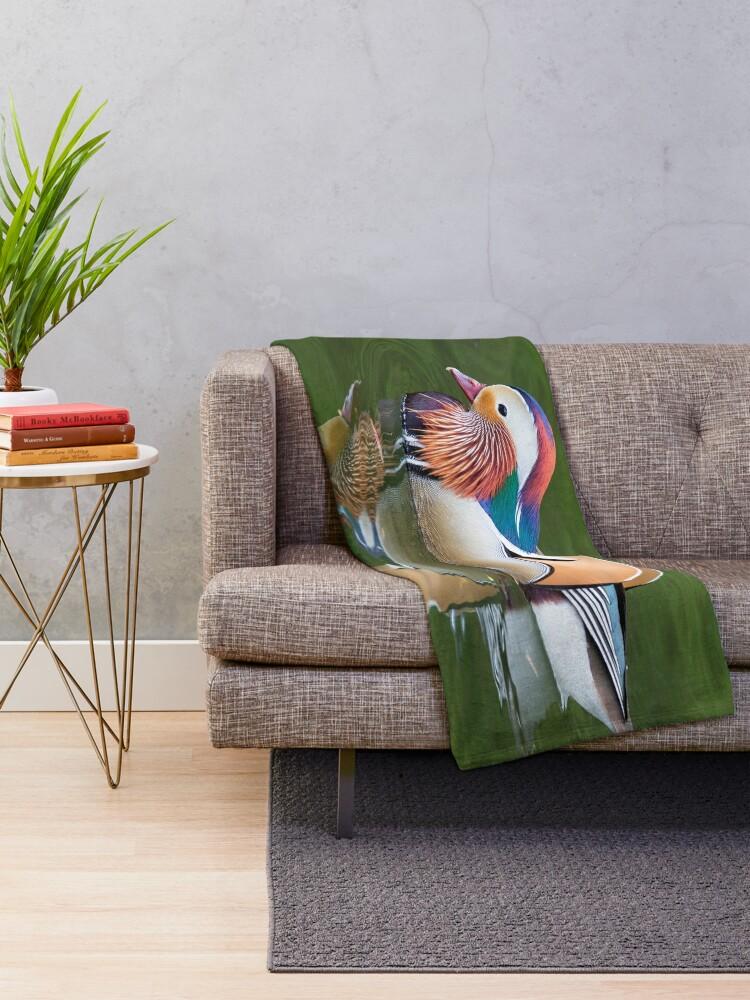 Alternate view of Mandarin Throw Blanket