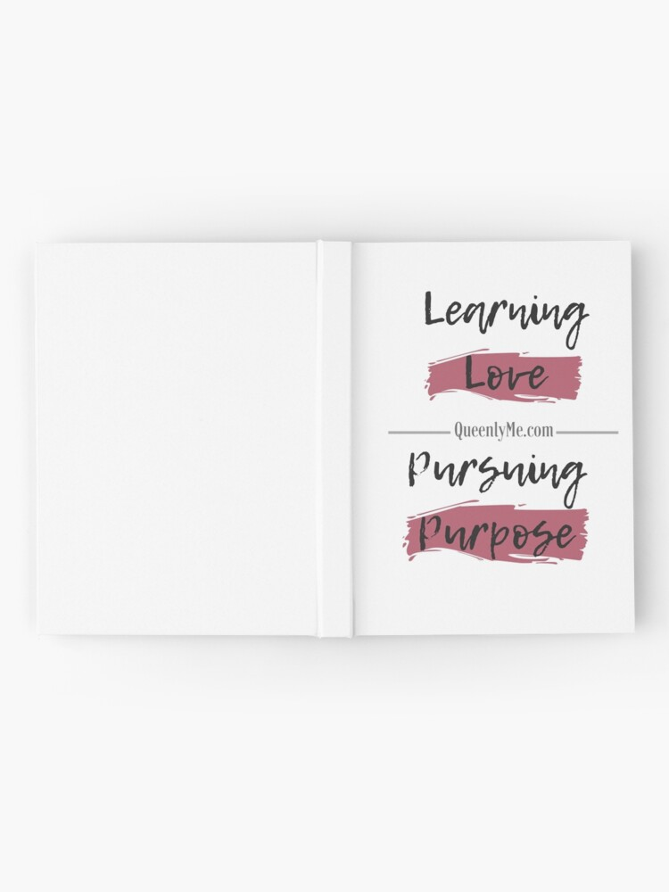 Alternate view of Learning Love, Pursuing Purpose Hardcover Journal