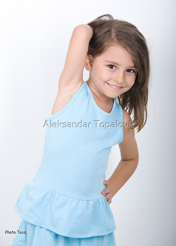 Very young model darja by aleksandar topalovic redbubble for Model flat pictures