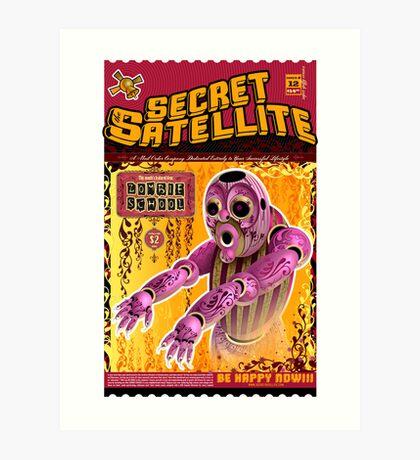 The Secret Satellite Mail Order Flyer #12 Art Print