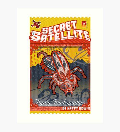 The Secret Satellite Mail Order Flyer #11 Art Print