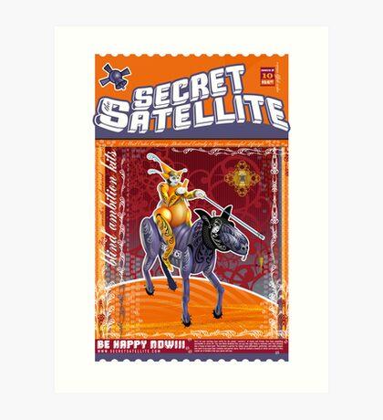 The Secret Satellite Mail Order Flyer #10 Art Print