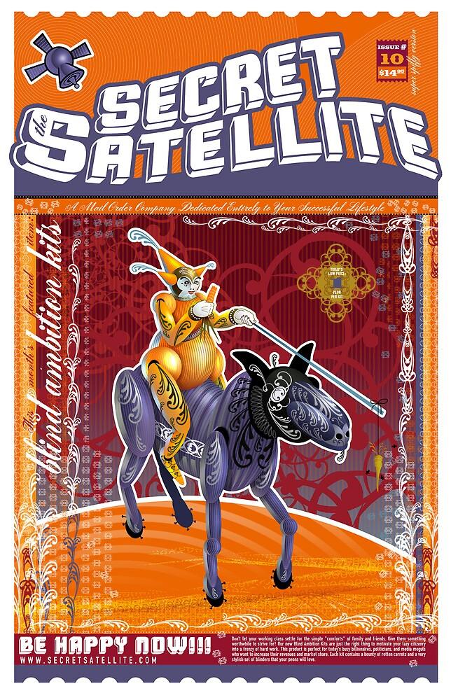 The Secret Satellite Mail Order Flyer #10 by Kristian Olson