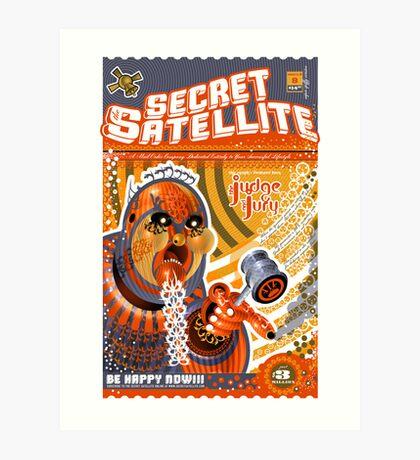 The Secret Satellite Mail Order Flyer #8 Art Print