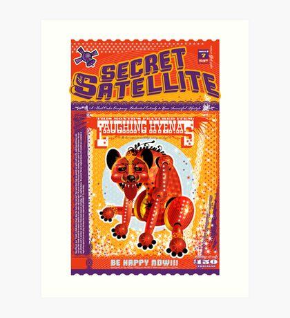 The Secret Satellite Mail Order Flyer #7 Art Print