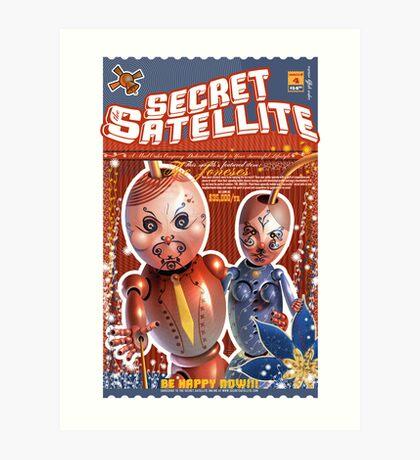 The Secret Satellite Mail Order Flyer #4 Art Print