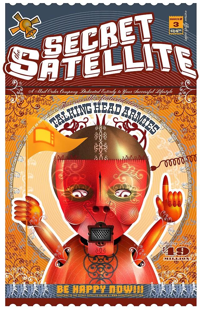 The Secret Satellite Mail Order Flyer #3 by Kristian Olson