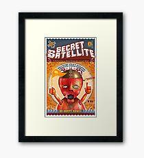 The Secret Satellite Mail Order Flyer #3 Framed Print