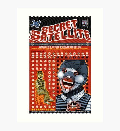 The Secret Satellite Mail Order Flyer #1 Art Print
