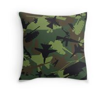 Military Camouflage Pattern Print Throw Pillow