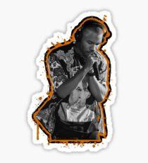 Frank Ocean Splatter Sticker