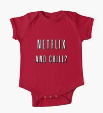 Netflix and chill? One Piece - Short Sleeve