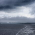 Leaving Kennacraig for Islay by IslayFineArt