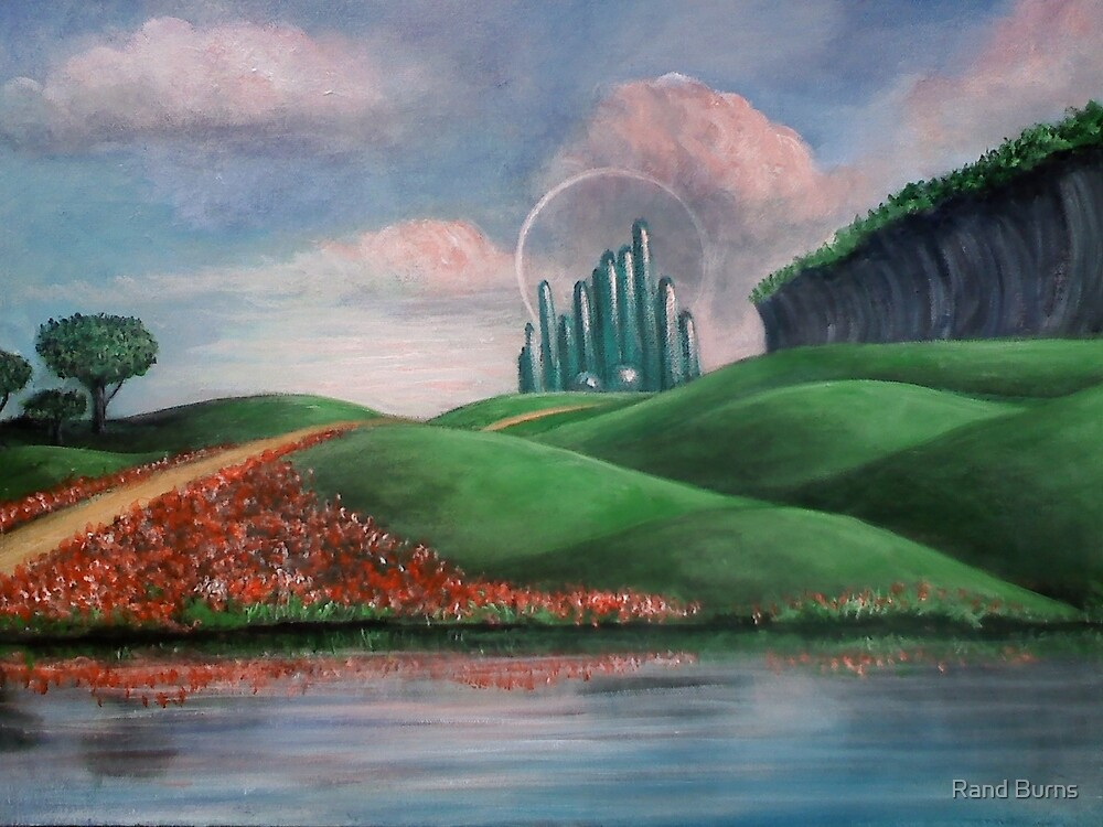 The Emerald City by Randy Burns