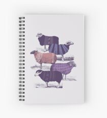 Cool Sweaters Spiral Notebook