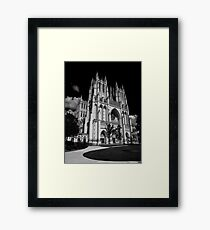 Washington National Cathedral Framed Print