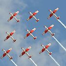 PC-7 TEAM (Swiss Air Force) by Andy Jordan