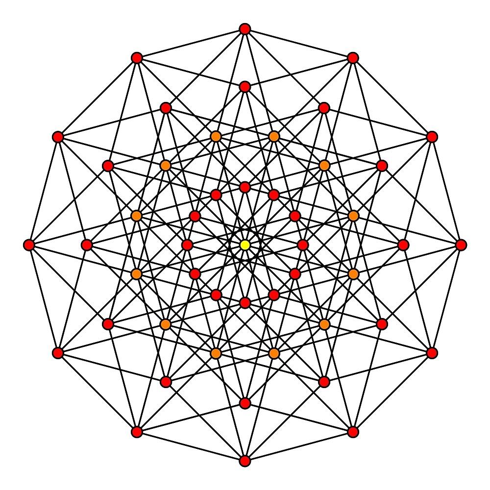 6-cube hexeract  by Rupert Russell