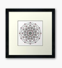 6-cube hexeract  Framed Print