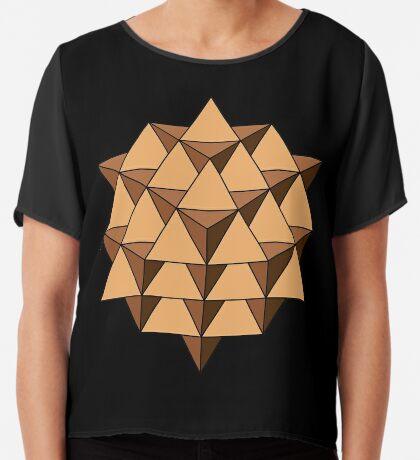 64 Tetrahedron 001 Chiffon Top