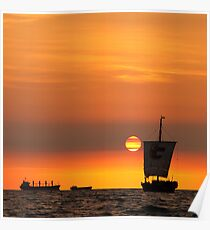 Sail into the sunset... Poster