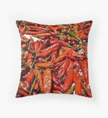 Spicy !!! Throw Pillow