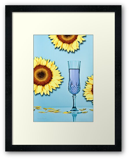 Cocktails with Van Gogh - Print by Mark Podger