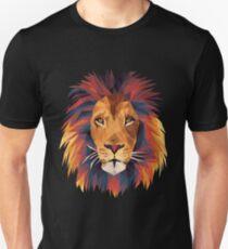 Low-poly Lion Unisex T-Shirt