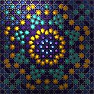 Moorish Alhambra design by Girih