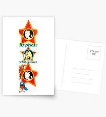 Liz Phair Whip-Smart Werbebanner 1994 Postkarten