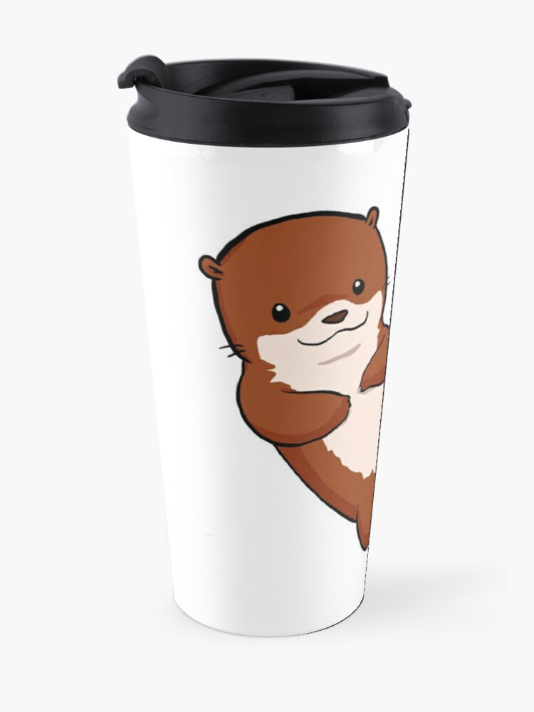 Alternate view of Otterly Awesome Travel Mug