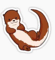 Otterly Awesome Glossy Sticker