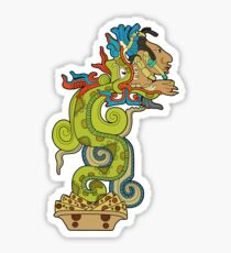 The Feathered Snake Sticker