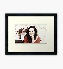 Lara pulver  Framed Print