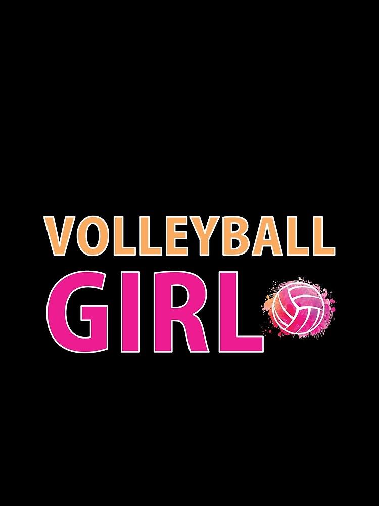 Volleyball Mädchen T-Shirts Sport Frauen Geschenkidee von TW-Designs