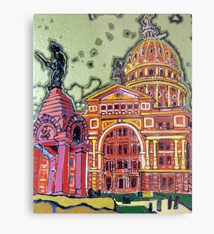 Defense! - Texas State Capitol - Austin, Texas Metal Print