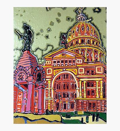 Defense! - Texas State Capitol - Austin, Texas Photographic Print