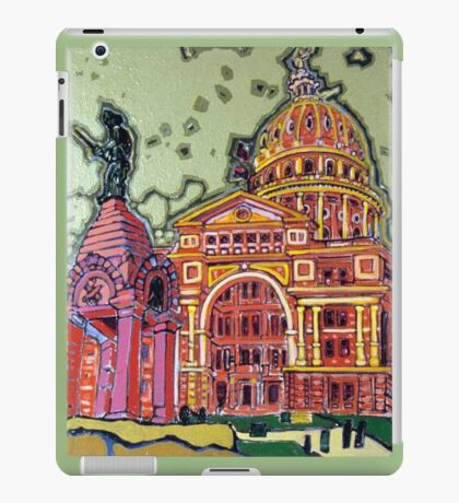 Defense! - Texas State Capitol - Austin, Texas iPad Case/Skin