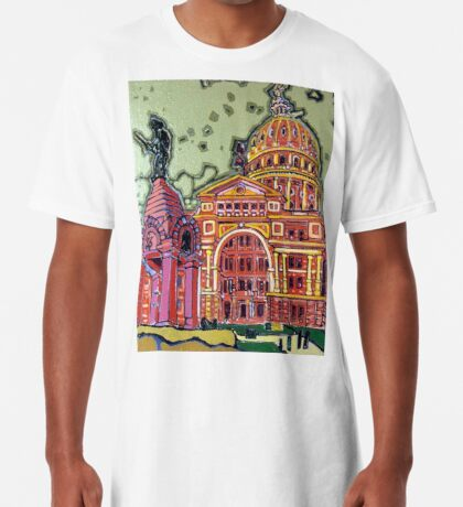 Defense! - Texas State Capitol - Austin, Texas Long T-Shirt
